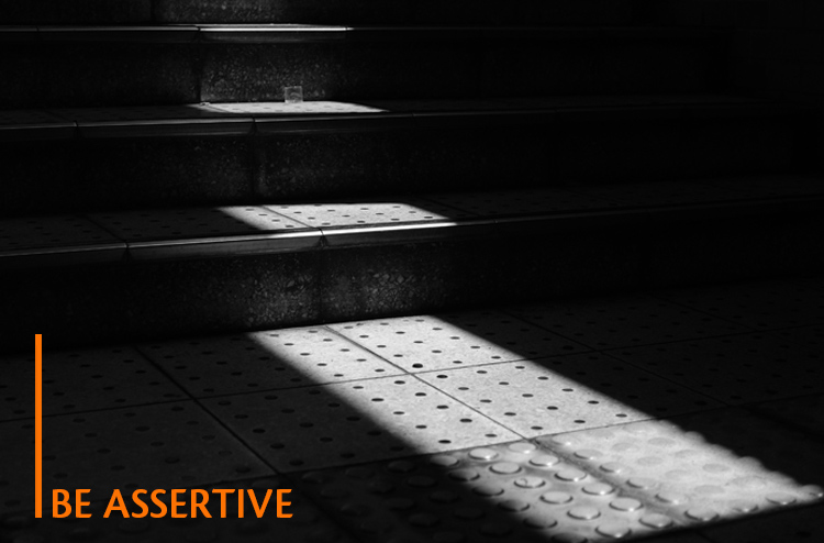 What men want in a woman is to be assertive